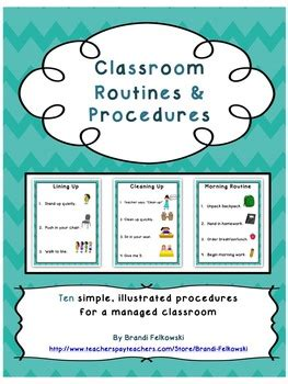 classroom bathroom procedures classroom routines and procedures printable posters for