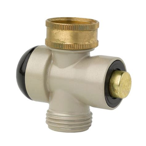 push button outdoor faucet adapters the green