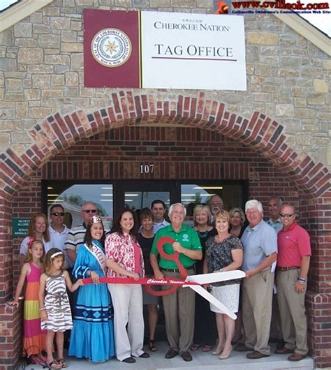 Oklahoma Tag Office by Expanded Tag Office In Collinsville June 18