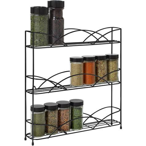 kitchen storage racks walmart home logic in drawer spice rack shelf kitchen organizer