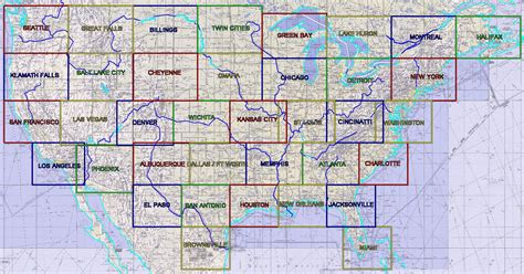 miami sectional chart conventional grids