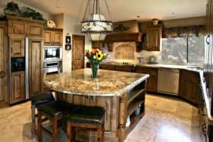 Kitchen Islands With Granite Granite Kitchen Island Designs The Interior Design