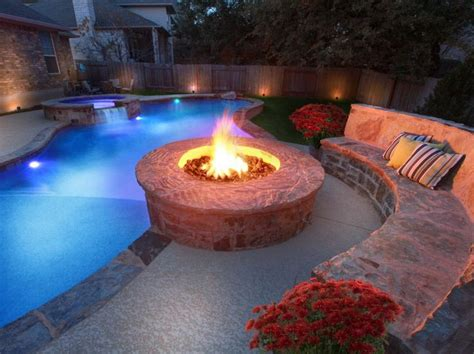 pool fire pit 17 best images about our outdoor living on pinterest