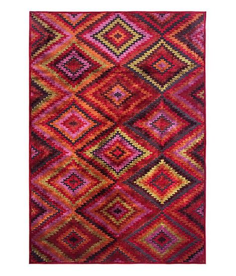 Brown And Pink Area Rugs Riva Carpets Pink Geometrical Wilton Area Rug Large Buy Riva Carpets Pink Geometrical Wilton