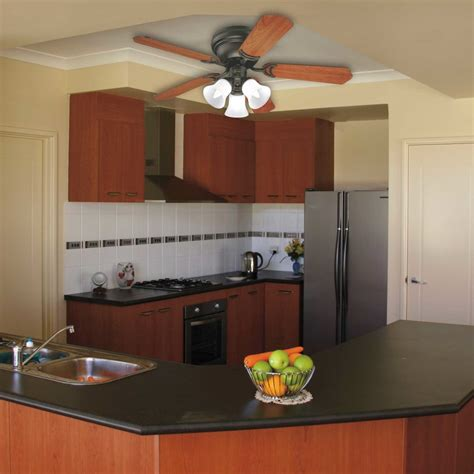 lowes kitchen ceiling fans flush mount ceiling fans for small rooms hunter ivy creek