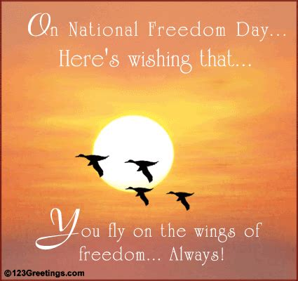 Freedom Gift Card - national freedom day cards free national freedom day wishes 123 greetings