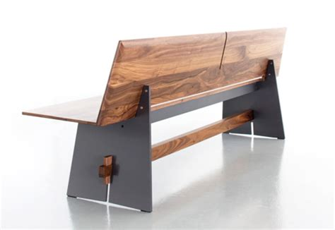 bench with backrest tension wood bench with backrest by conmoto stylepark