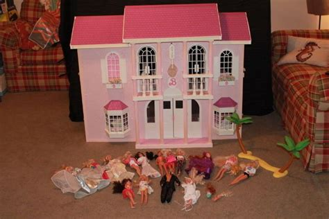 barbie doll house mansion vintage 1990 barbie magical mansion doll house instructions accessori