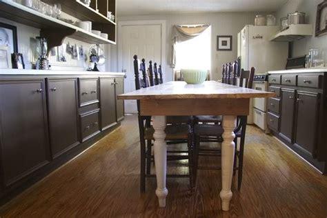 narrow kitchen table kitchen ideas