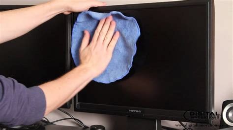 how to clean how to clean a computer monitor screen