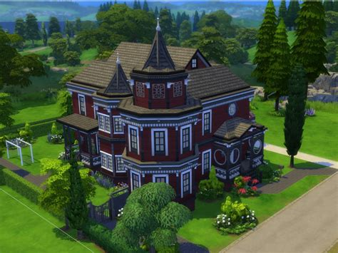 sims 4 house parsimonious the sims 4