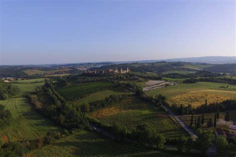 chianti monteriggioni monteriggioni siena italy dronestagram