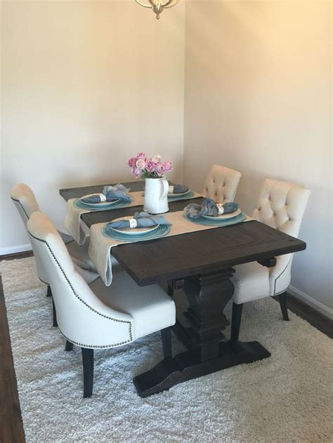 market arcadia table market arcadia dining table and lydia linen chairs