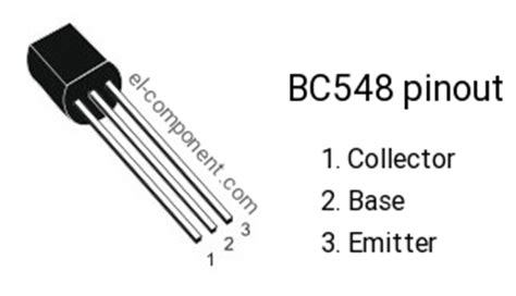 bc548 transistor pin description bc548 n p n transistor complementary pnp replacement pinout pin configuration substitute