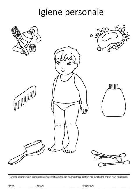 igiene alimentare pdf la maestra igiene personale