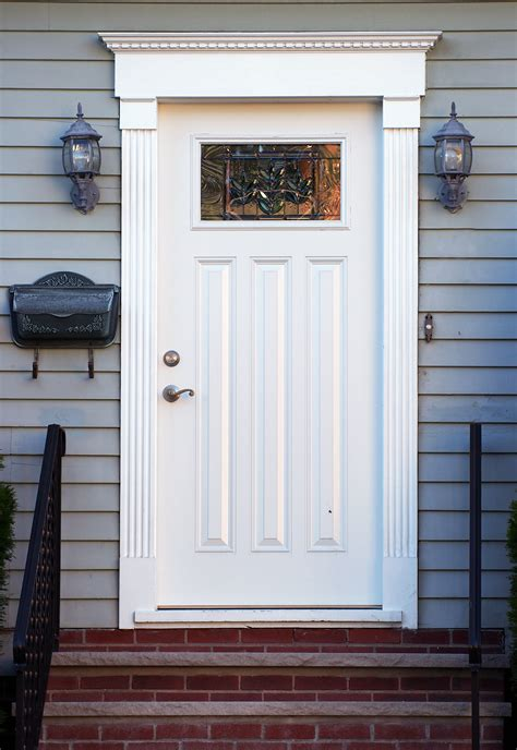 real cost  replacing  entry door home town