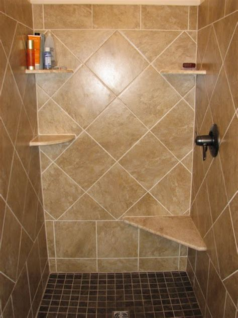 Ceramic Tile Bathroom Ideas by Shower Tile Designs Casual Cottage