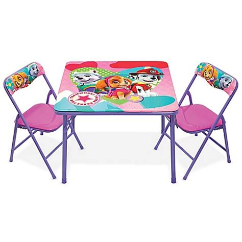 paw patrol table set furniture gt nickelodeon paw patrol 3 activity