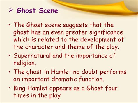 most important themes in hamlet some important scenes in quot hamlet