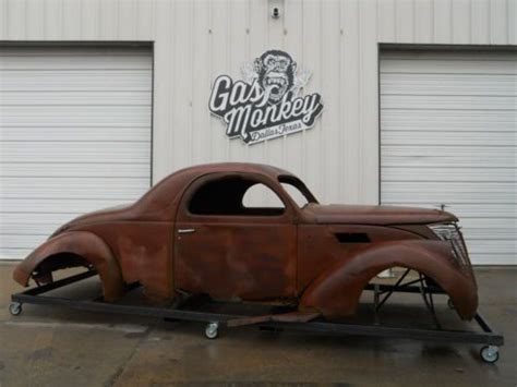 Gas Monkey Garage Lincoln by Buy Used 1937 Lincoln Zephyr 3 Window Coupe By
