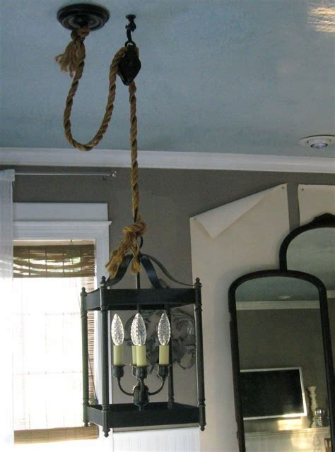 Kitchen Rope Lighting 50 Best Pulley Images On Pulley Light Lighting Ideas And Home Ideas