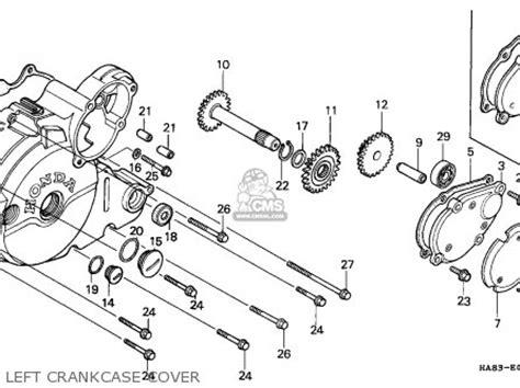 1985 honda fourtrax 250 parts honda trx250 fourtrax 1985 canada parts list partsmanual