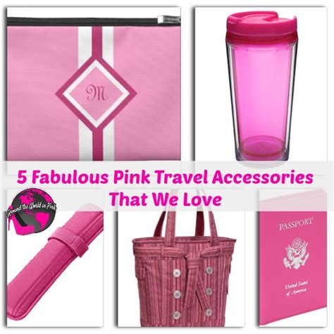 5 Ways To Go Skirting Around Fabulously by 5 Fabulous Pink Travel Accessories That We Around