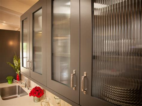 kitchen with glass cabinet doors photos hgtv