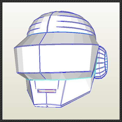Papercraft Helmet Template - papercraftsquare new paper craft daft