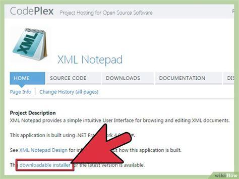 xml comment pattern c 243 mo ver archivos xml 10 pasos con fotos wikihow