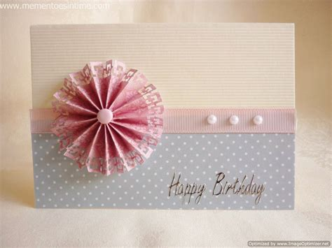 paper flower rosette tutorial card making ideas mementoes in time