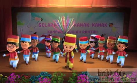 Kartun Upin Ipin Collection lagu tema filem upin dan ipin lagu tema filem upin