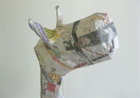 A Paper Mache - six0six design craft tutorial 4 paper mache animals
