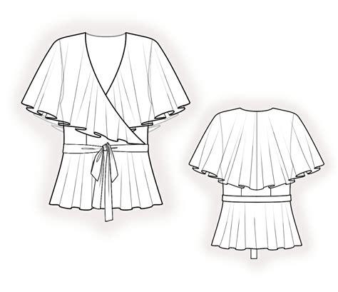 pattern rule makefile chiffon blouse sewing patterns lace henley blouse