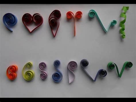youtube tutorial quilling how to make basic quilling scrolls tutorial part 2 for