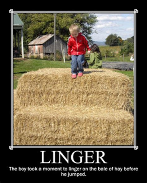 linger meaning