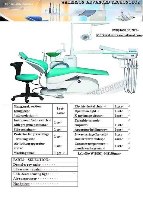 dental chair parts india dental unit chair parts selection buy from watson