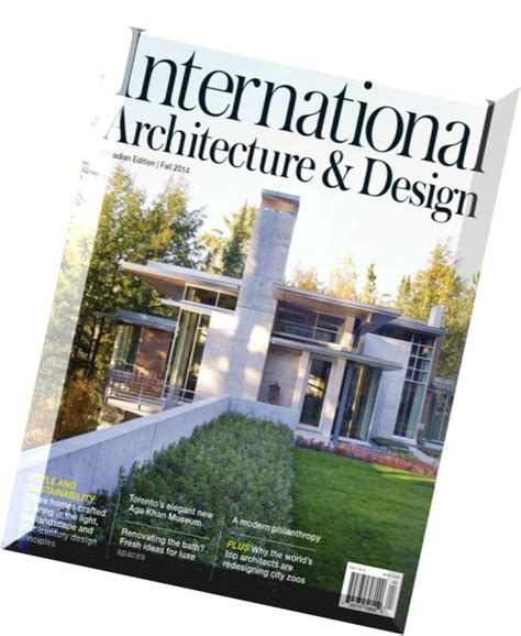 architecture and design magazine download international architecture design magazine fall