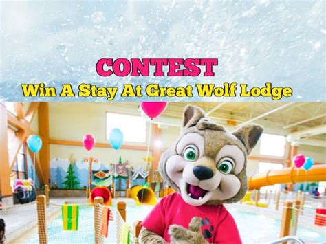 win a two night stay at great wolf lodge in our family toronto cheap events attractions guide entertain kids