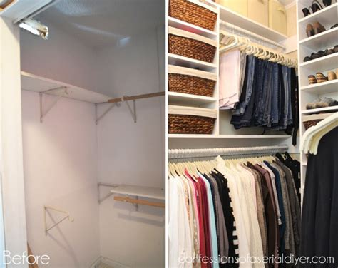 closet makeover confessions of a serial do it yourselfer