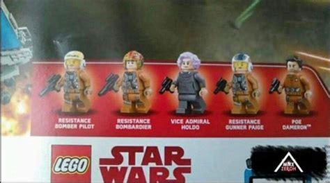 Lego Vice Admiral Holdo 75188 lego wars 75118 resistance bomber wars amino