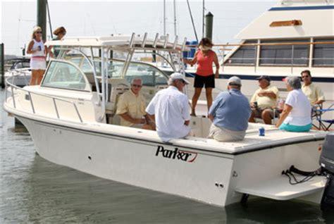 parker boats hull construction 2310 dv walkaround inside passage yacht salesinside