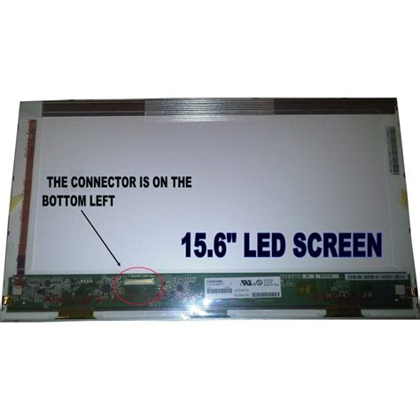 Led Laptop Toshiba by Toshiba Satellite 15 6 Led Lcd Screen C650 C660 C660d L500