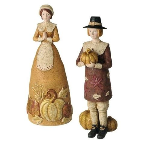 pilgrims figurine and thanksgiving on pinterest