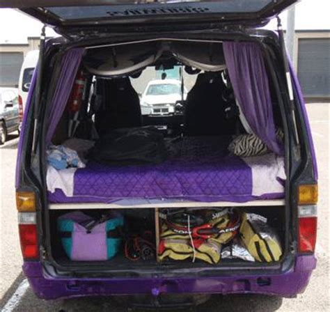 vans with beds van layouts windsurfing forums page 2