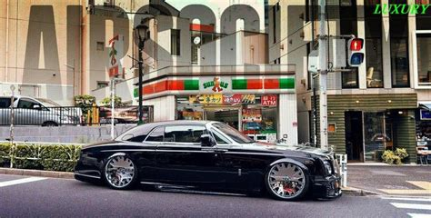stanced rolls royce custom rolls royce google search slammed pinterest