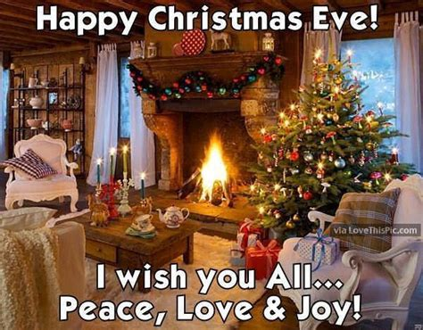 happy christmas eve    peace love  joy pictures   images  facebook