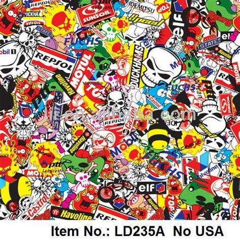 Promo Stiker Printing Dekorasi Jdm As Jdm M Murah Meriah bom stiker air pencetakan transfer barang no ld235a
