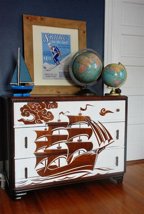 Furniture Decoupage Ideas - 39 furniture decoupage ideas give things a second