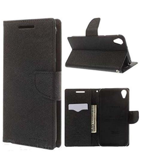 Flip Cover For Sony Xperia C4 mercury black flip cover for sony xperia c4 plain back